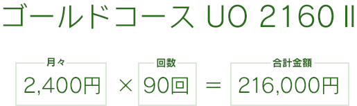 ゴールド UO 2160 2